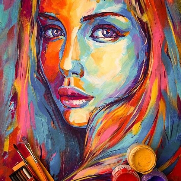 40 Artistic Acrylic Painting Ideas For Beginners…