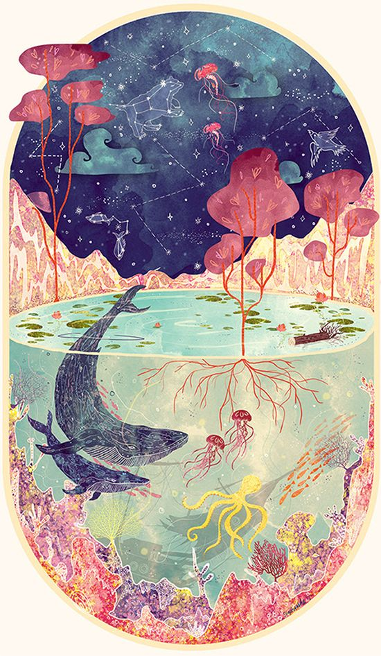 worth 1000 words: stars and sea – Small for Big