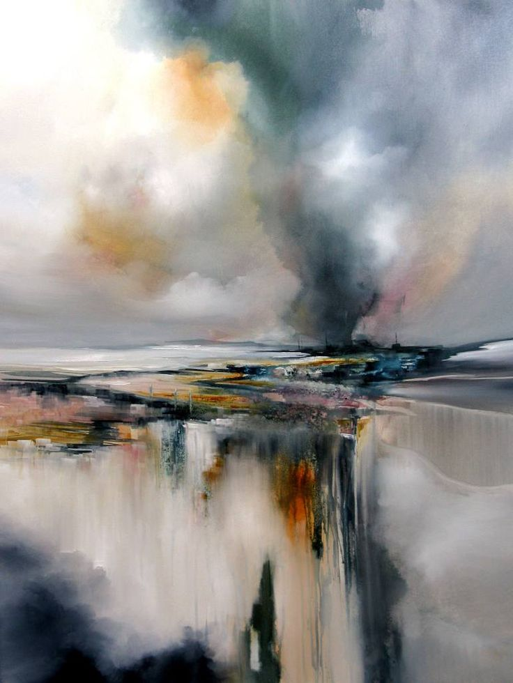 "Saatchi Art Artist Alison Johnson; Painting, ""Twister"" #art…"