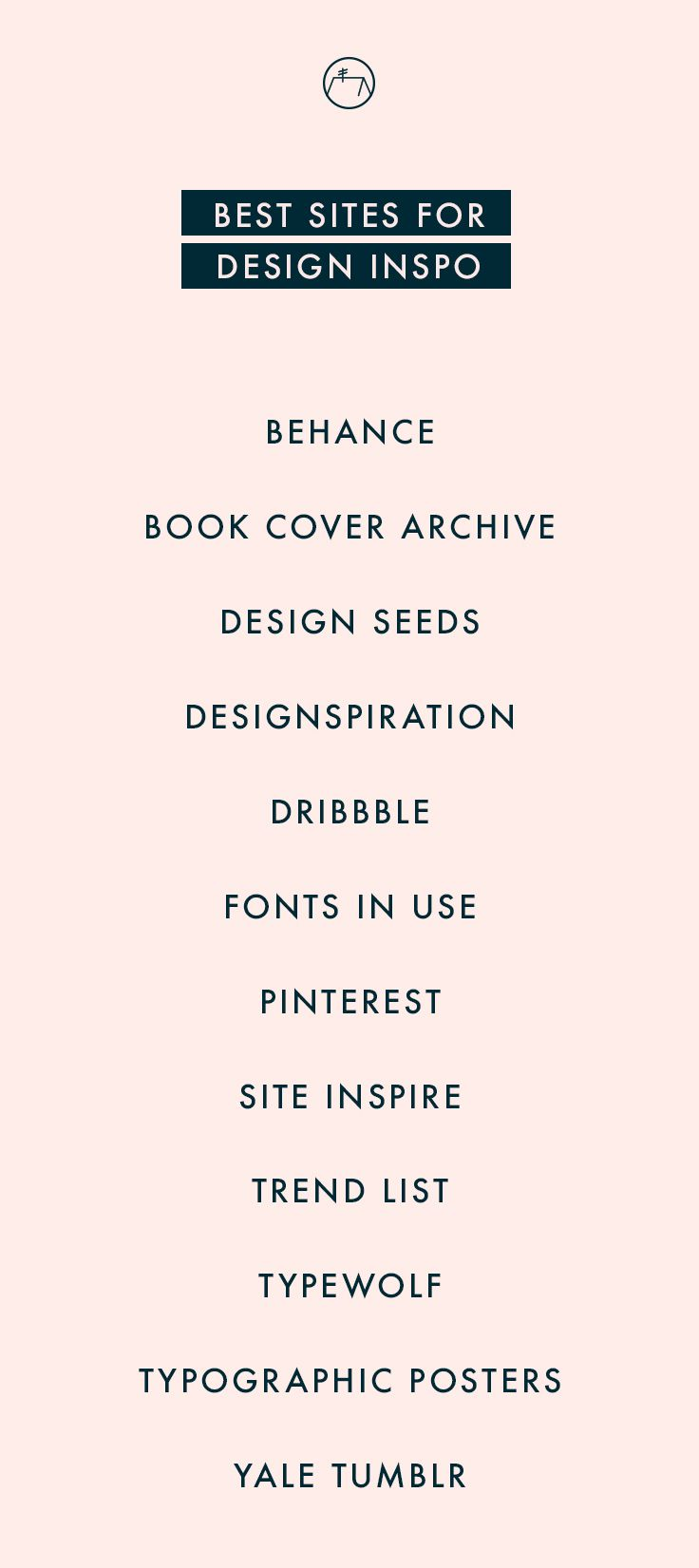 My go-to sites for graphic design inspiration. Check em out or click through to …