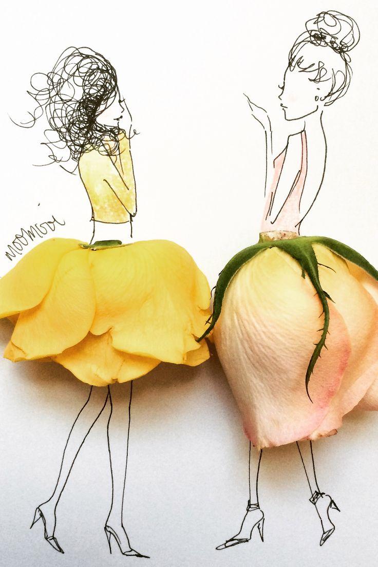 Flower Girl Instagram – Fashion Illustrators On Instagram