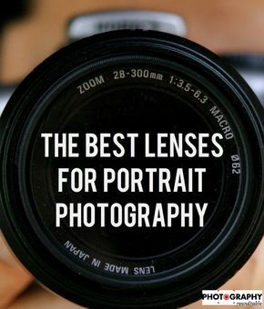 If you want the best lenses for portrait photography, look no further than this …