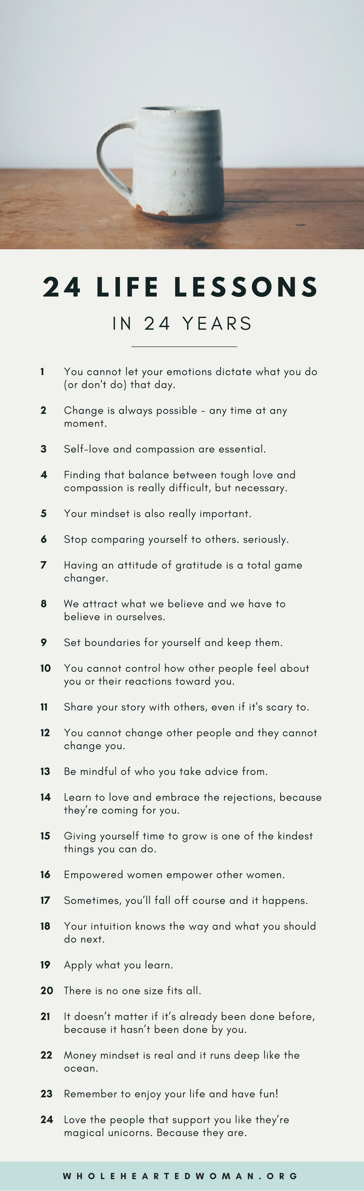 24 Life Lessons in 24 Years | Life Advice | Personal Growth & Development | …