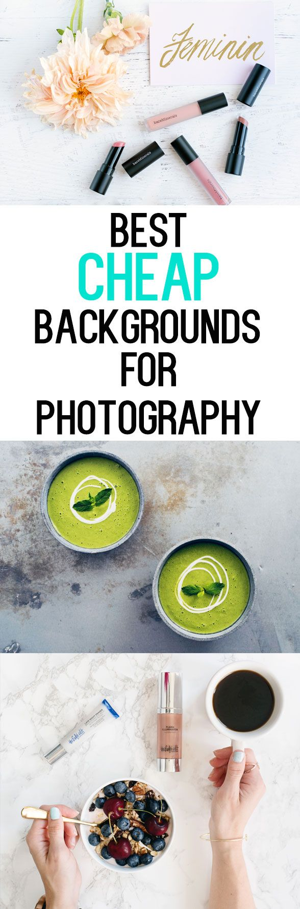 Best Cheap Backdrops for Photography – $25 or less! Great for food photography, …