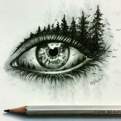 15+ Pencil Drawings of Eyes, Fineart, Pencil Drawings, Sketches …