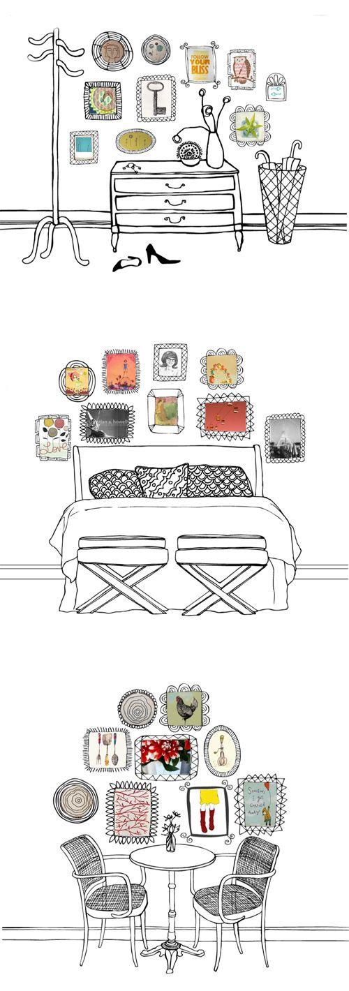 illustrations…arrangement