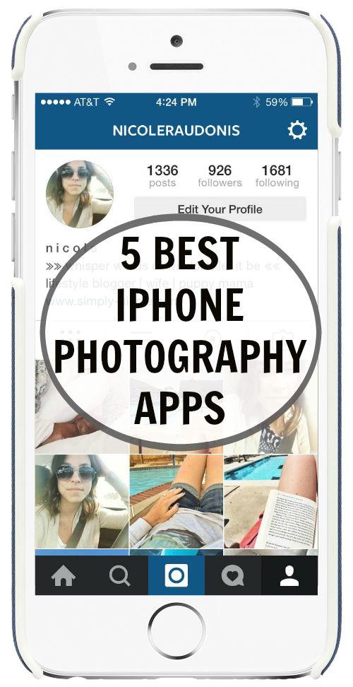 The 5 Best iPhone Photography Apps – Simply Nicole