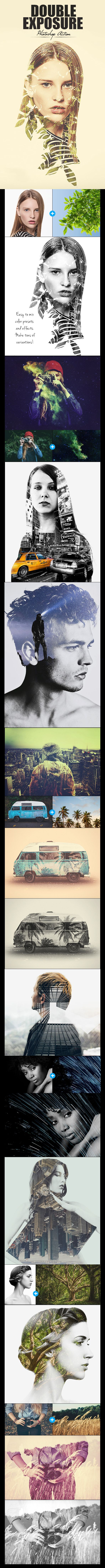 Double Exposure Photo Effect. Download here: graphicriver.net/…