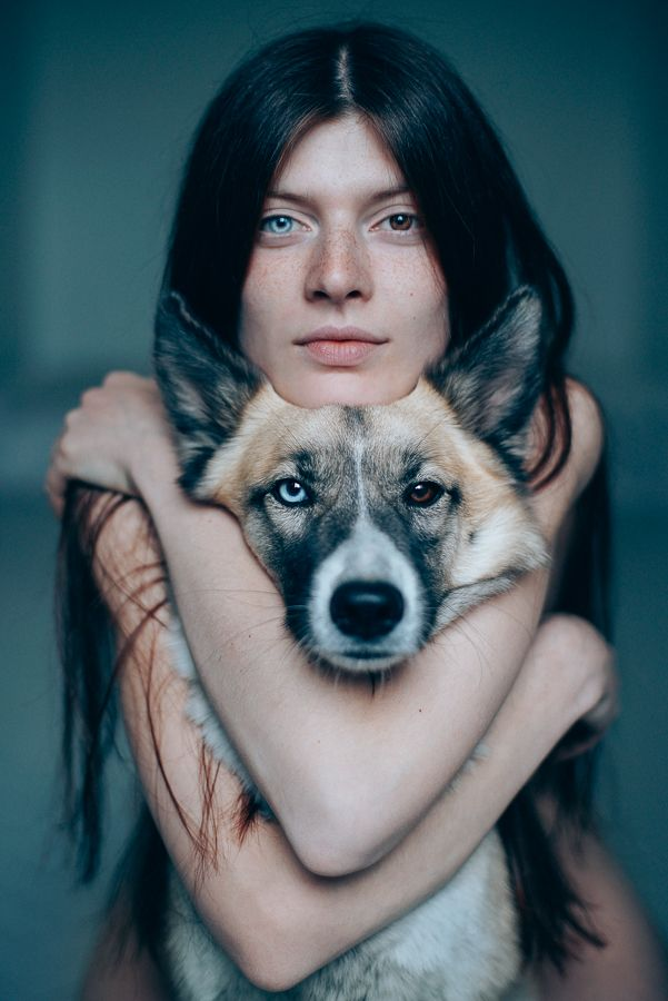 gyravlvnebe: Me and my dog Pandora, adopted from the street. www.pinterest.com…..