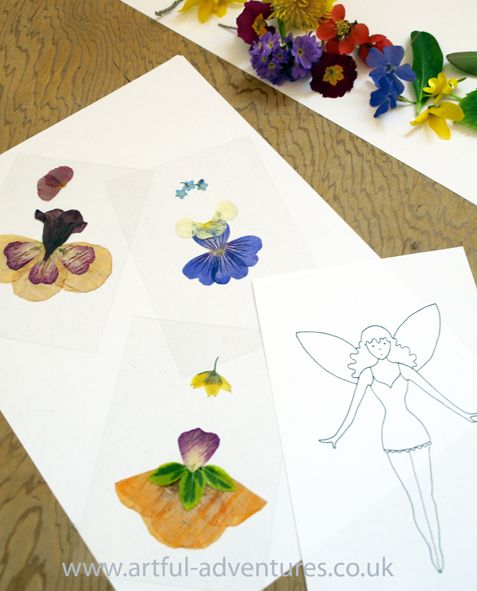 Create your own fairy tableau and take a photograph with this fun activity.
