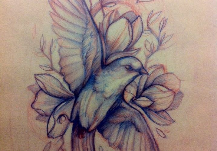 I think this looks pretty great, but if it were on me I would want only the bird…