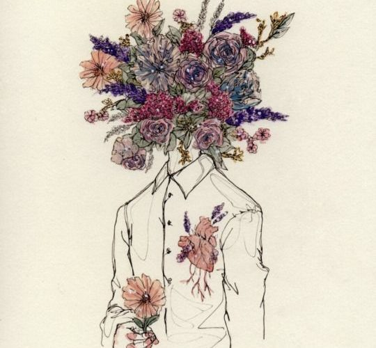 She told me his head was full of flowers and that his heart probably beat out sp…