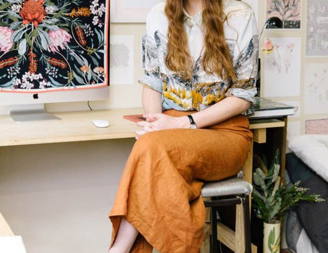 Edith Rewa in her home studio aka 'The Bush Museum' thedesignfiles.ne…