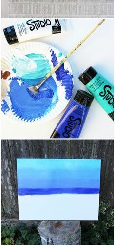 Get your artistic juices flowing with a super easy and fun DIY painting tutorial…
