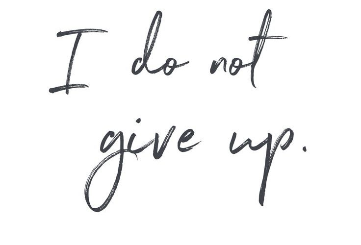 I do not give up – daily mantra –  It's #NationalStressAwarenessDay. What is You…