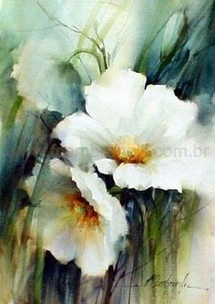 watercolor paintings of flowers – Google Search