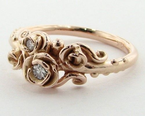 Crazy impressive and often one-of-a-kind artistic wedding rings from Wexford Jew…