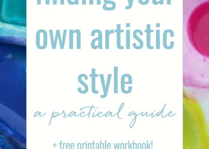 Finding your own artistic style – a practical guide, with free workbook! No one …