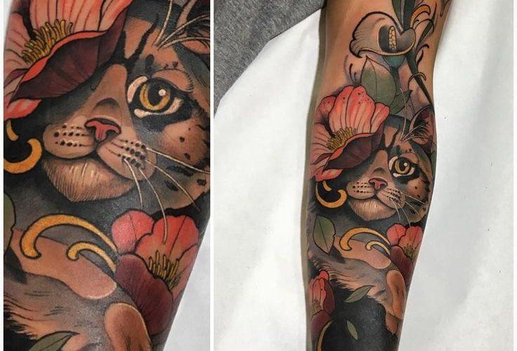 Neo Traditional Tattoo                                                          …