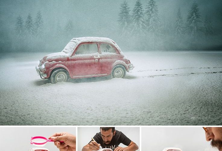 Photographer Captures Small Toys With Big Imagination #photography #photo www.bo…
