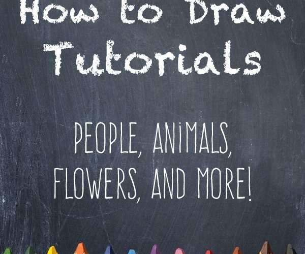 40+ Free How to Draw Tutorials – This list contains tutorials for body parts, an…