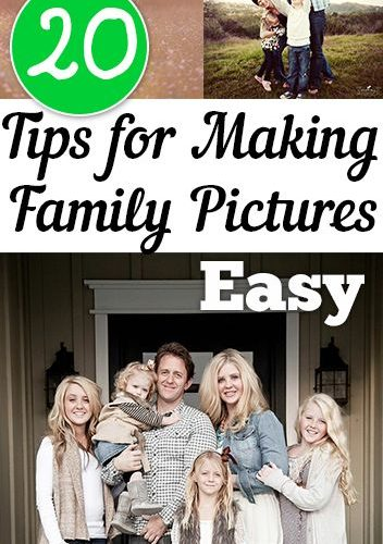 Family pictures can really end up being a complete catastrophe, so use these 20 …
