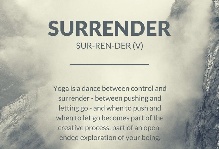Surrender as deep as you can. Stay present to you. Go inward. Pull. Sweat. Be dr…