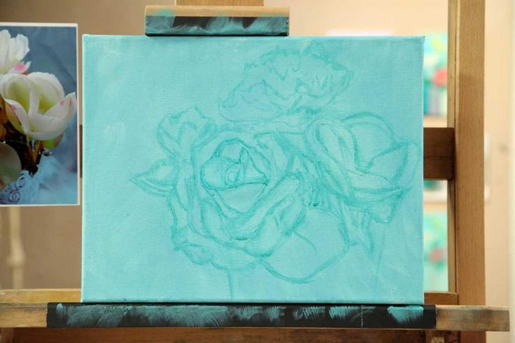 "Underpainting Start your painting by creating a ""sketch"" of the image in paint. …"