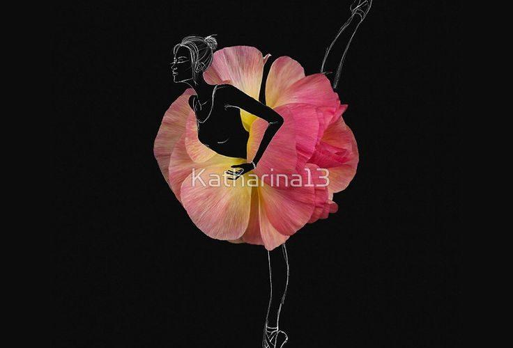 Ballerina en pointes