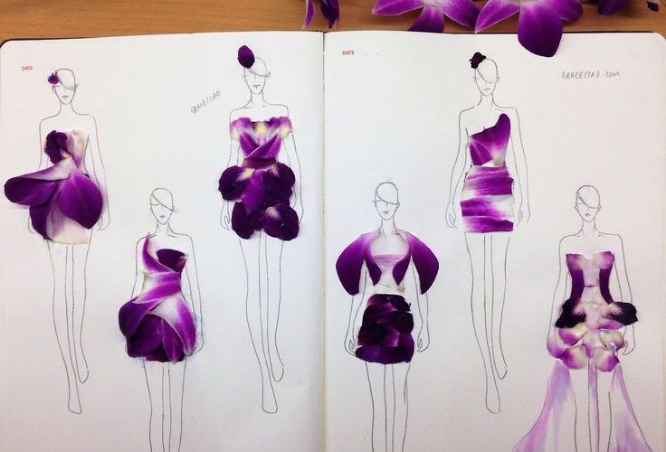 Creative Fashionary sketches by Grace Ciao  Grace is a fashion illustrator from …