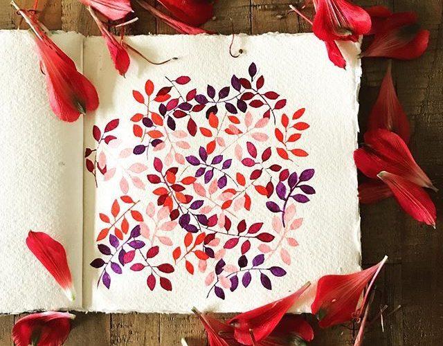 Fallen leaves…… broken flowers…… circle of life…… #madreanne_art #wa…