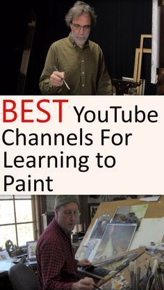 How to paint with oil paints and acrylics. YouTube channels with tutorials, guid…