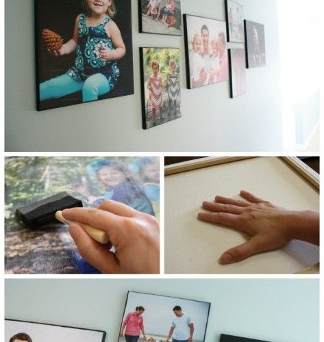 MUST PIN! Best DIY Photo Canvas tutorial out there! Learn the secret to creating…