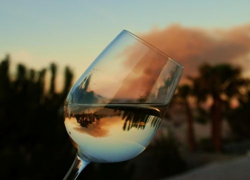 Reflection – Another excuse to drink wine and play with my camera!