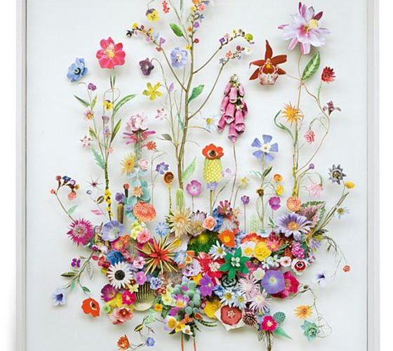 Anne Ten Donkelaar's collages take up less space and are some of the prettiest…