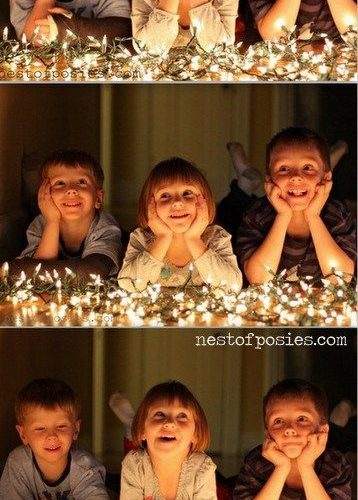 Capturing Memorable Holiday Photos with Kids at Night – Nest of Posies