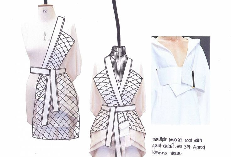Fashion Sketchbook – fashion design development; fashion sketch; fashion portfol…