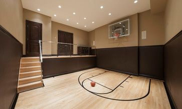 Home basketball court. Very cool and if you don't like the basketball concep…