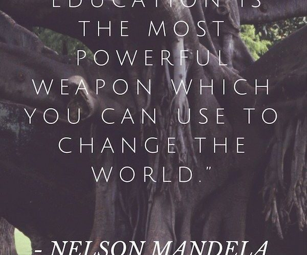 Quotes from Nelson Mandela- great for kids to learn from his wisdom about love, …