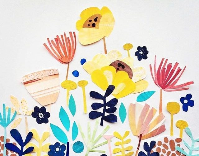 Some cut flowers for you! I love this art and design community we have built up …