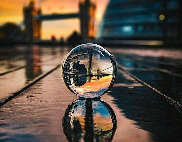 Spherical Crystal Ball Lens – Best photography accessory – Lensball #iphonephoto…