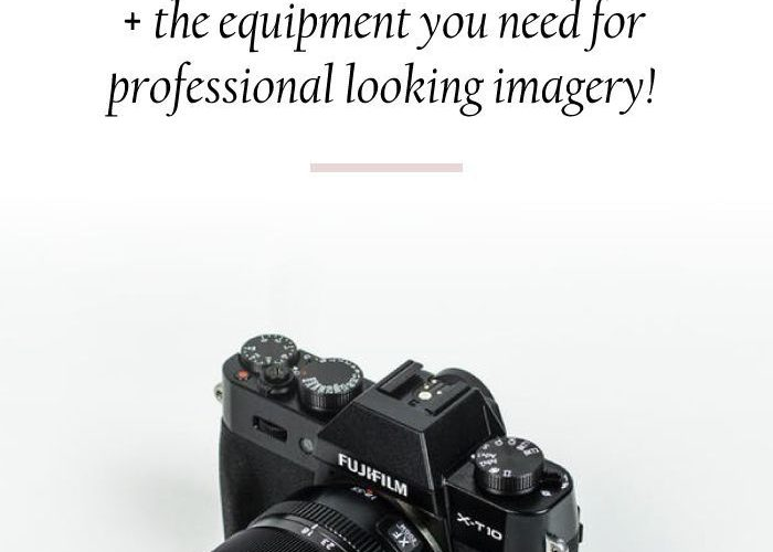 The best photography equipment for bloggers and entrepreneurs. | Photography | C…