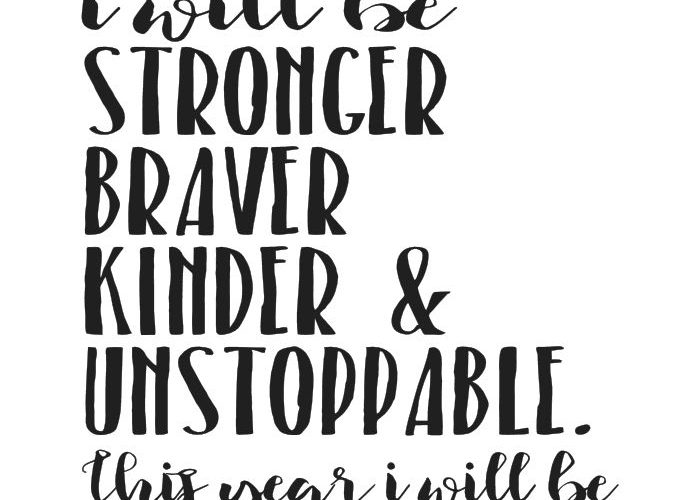 This is just ONE of NINE FREE printable weight loss quote! This is the year I wi…