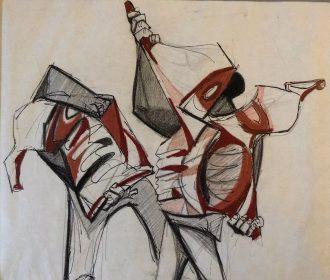 WALT PEREGOY FAMOUS DISNEY ANIMATOR ORIGINAL COA ART ARTWORK Color UNIQUE