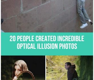 20 People Who Use Power of Perspective and Create Incredible Optical Illusion Ph…