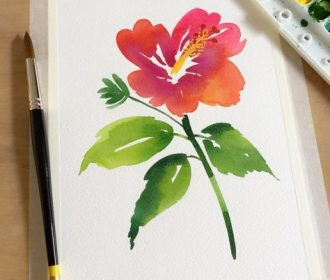 Learn how to paint a new flower every day with help from acclaimed watercolor ar…