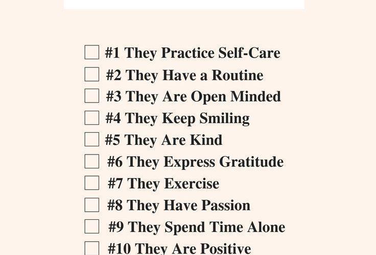 12 Habits of All Happy Women #printable #habitsof