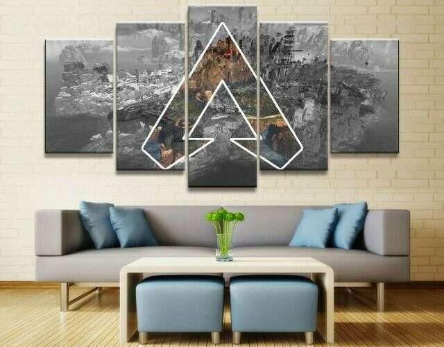 Artwork Apex Legends Game Poster Canvas Art for Home Decor Wall
