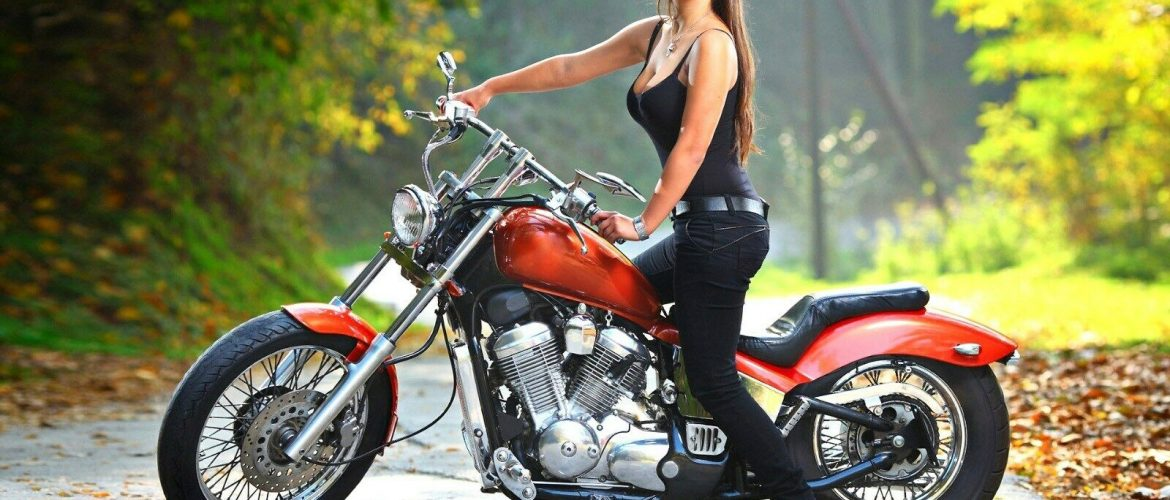US SELLER, artwork prints for sale pin-up sexy girl motorcycle poster