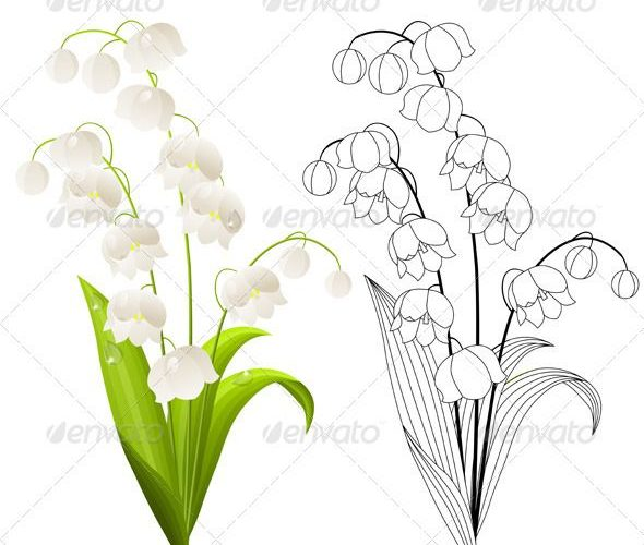 lily of the valley tattoo – Google Search